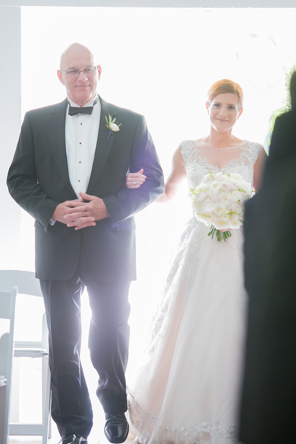 Bride and dad ceremony processional