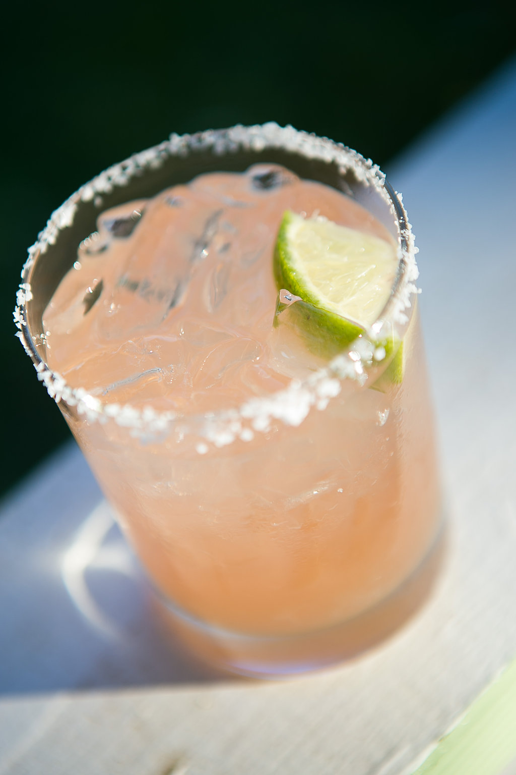 Peach wedding specialty drink