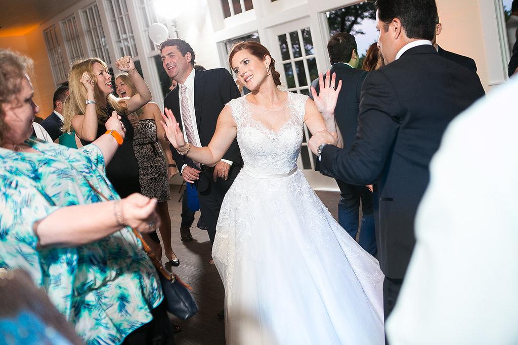 Bride dancing at Star Hill Ranch