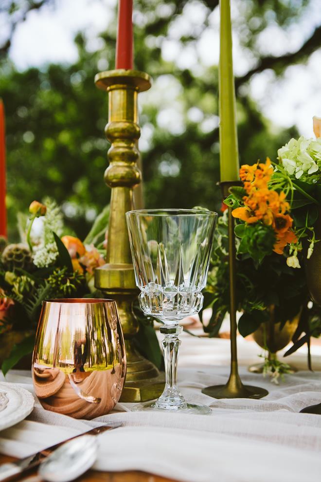 Brides of Austin Fresh Fall Boho styled shoot copper