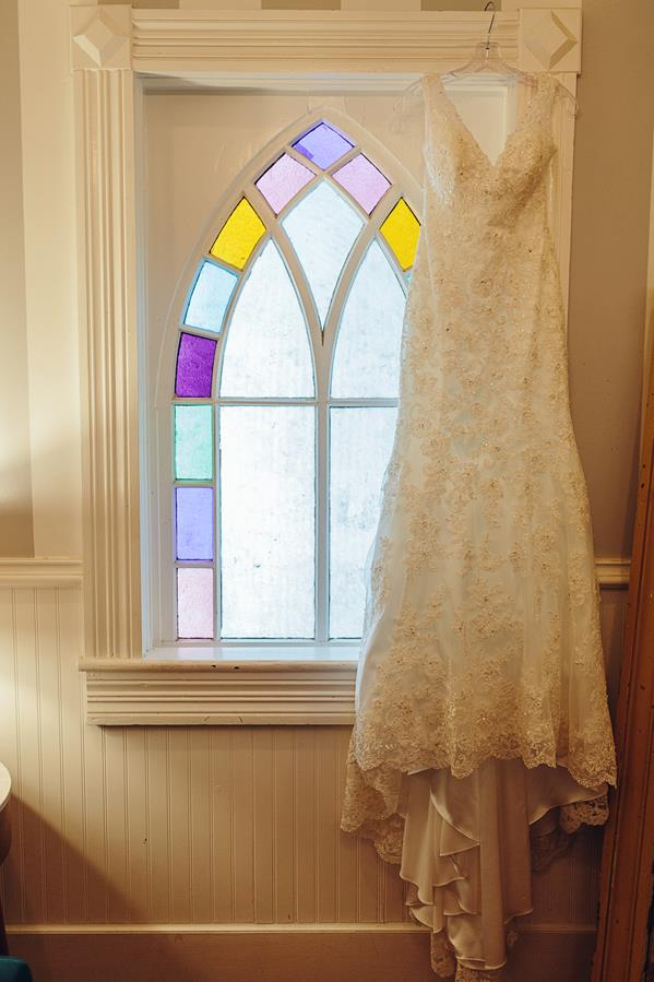 Mercury Hall Stained Glass Wedding Dress