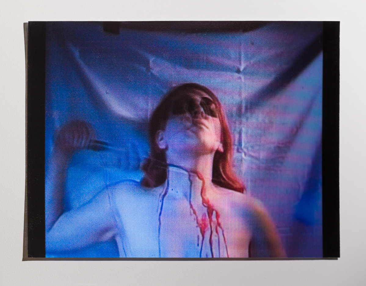 I Am The Devil,  Lenticular Print, 2013. Photography James Field