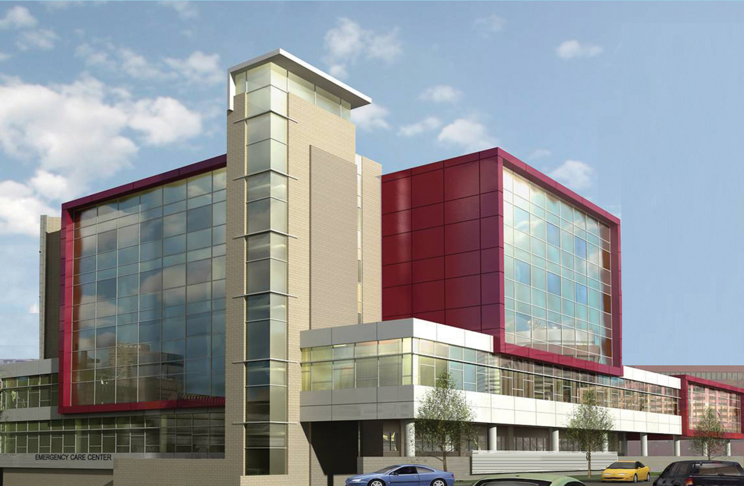 Hospital Rendering by 1st American Design & Construction for the National Laboratory Complex for the Government of the Republic of Sierra Leon