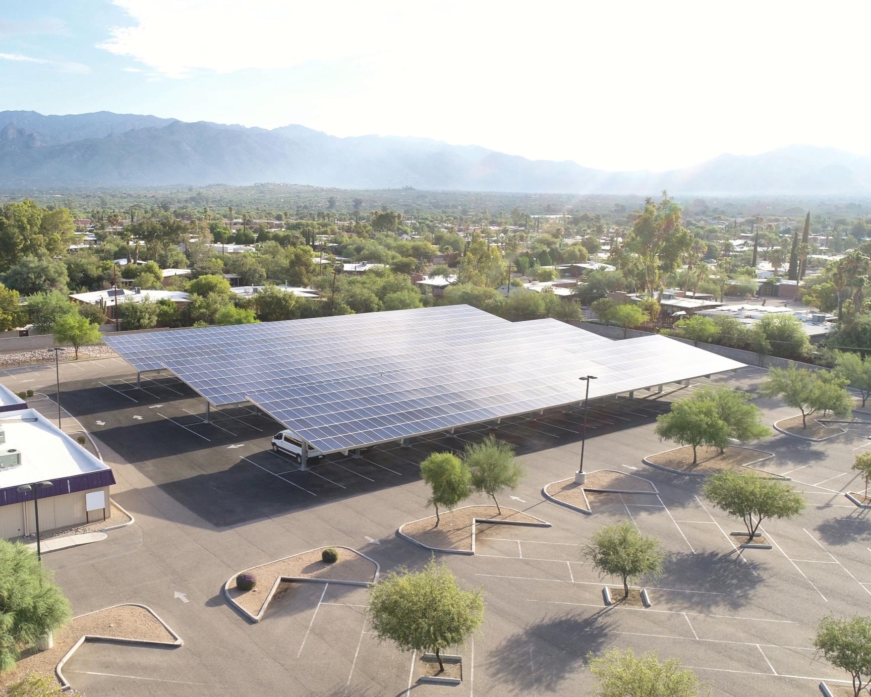 360 kW Solar Parking Structure System-Calvary Chapel Tucson 8711 E Speedway Blvd Tucson