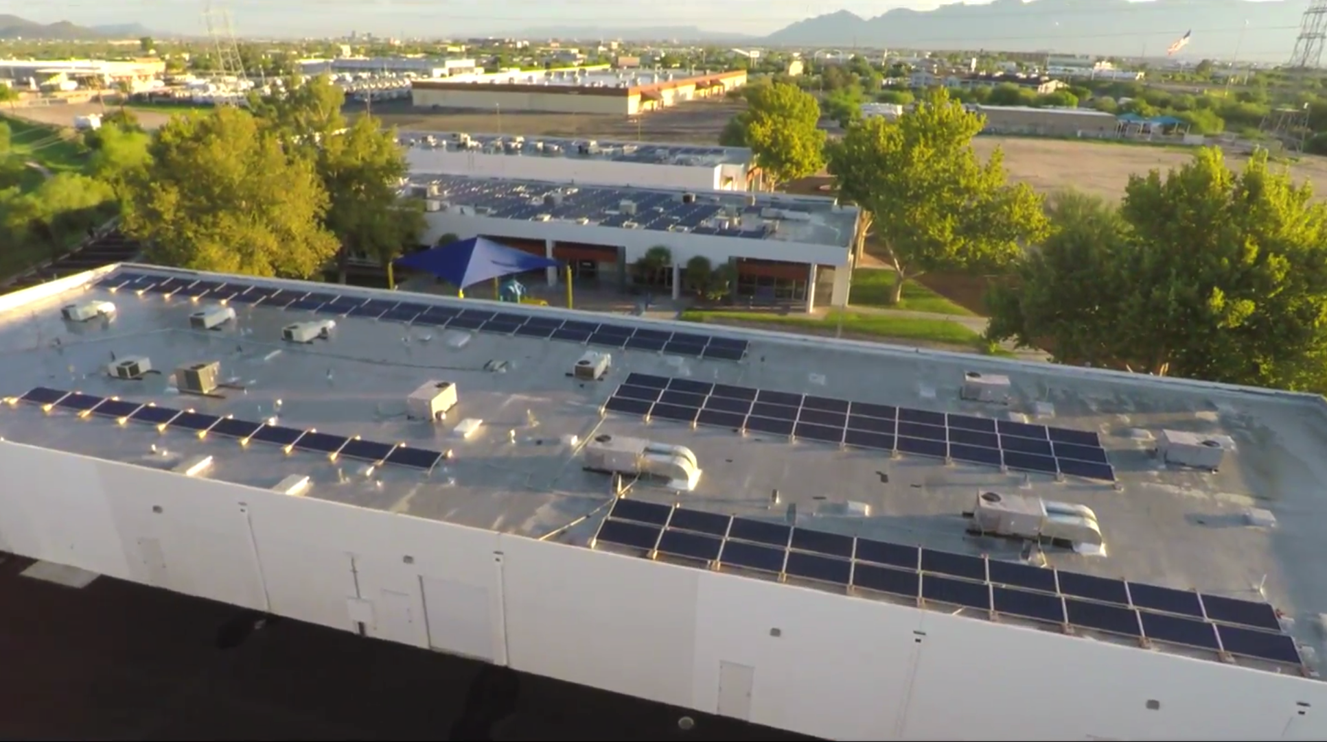 150 kW Roof Mounted System - Calvary West Campus, Chapel & School (5130-5190 S. Julian)