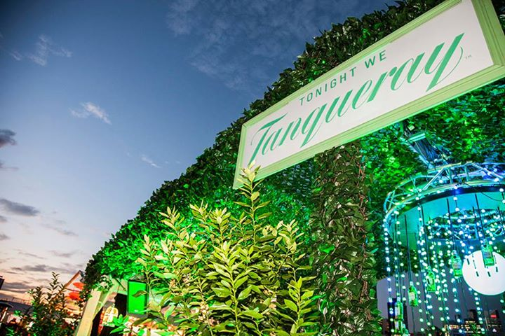 Tanqueray Stand Signage Sydney Night Noodle Markets