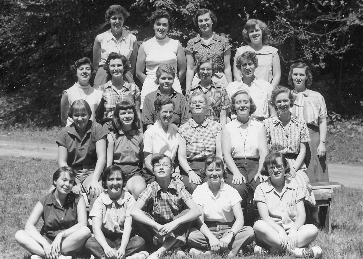 1953 Miss Bradley & Staff.jpg