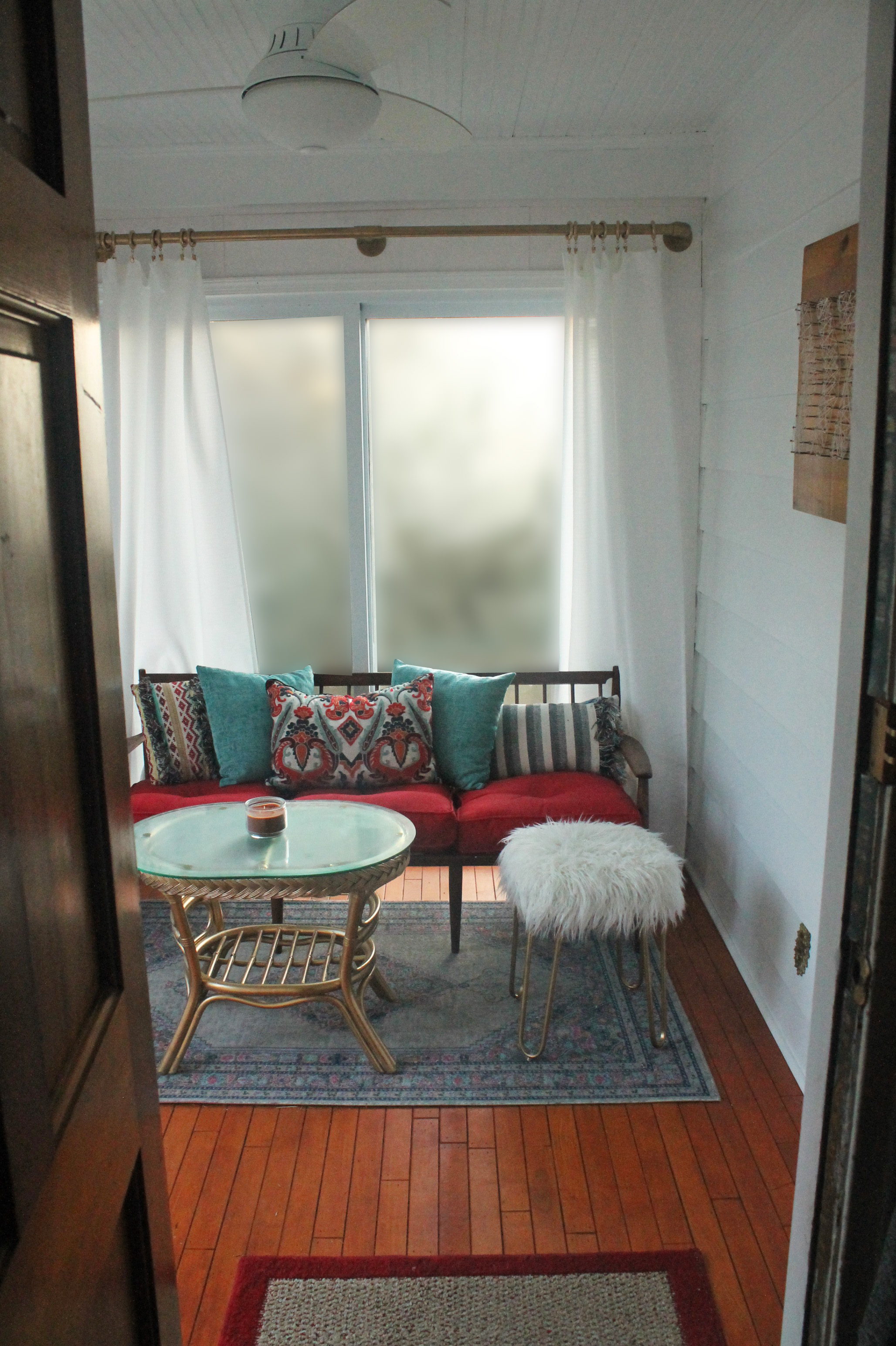 Creative Adulting | Sunroom Reveal