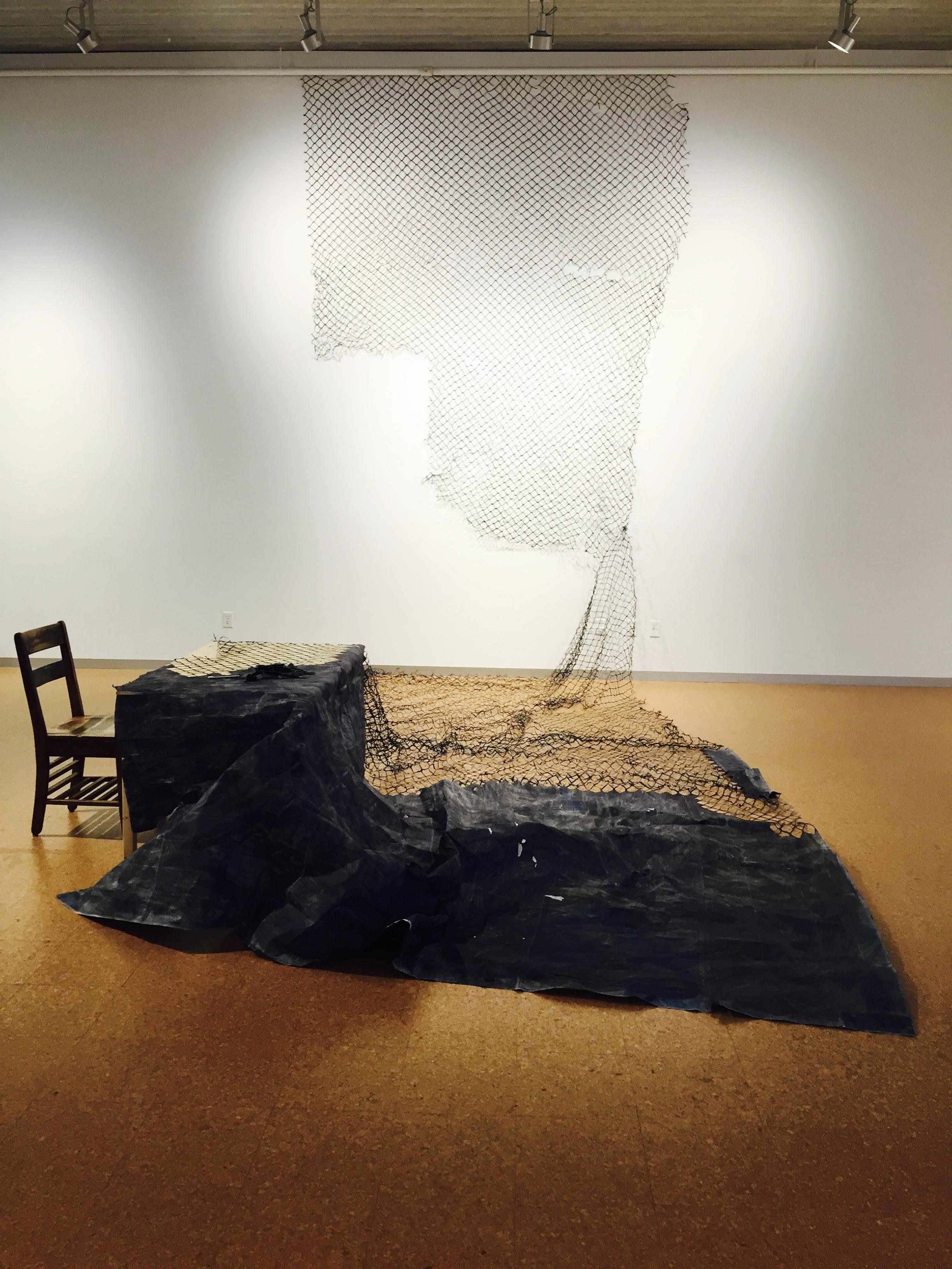 Veil  Levitt Gallery Iowa City, IA