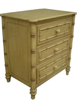 Faux Bamboo Chest #1082