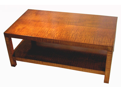 Tiger Maple Coffee Table #1049