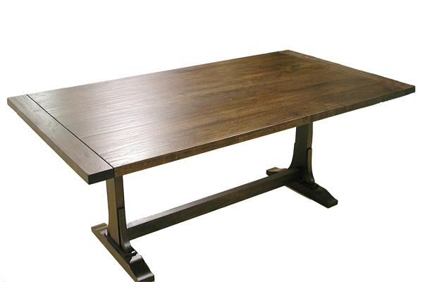 Walnut Trestle Extension Table #2077