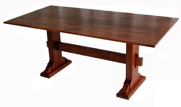 Cherry Trestle Table #2078