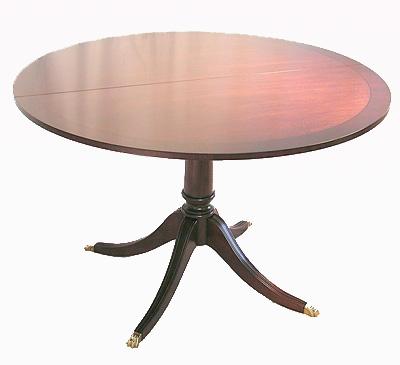 Extension Pedestal Table #2089