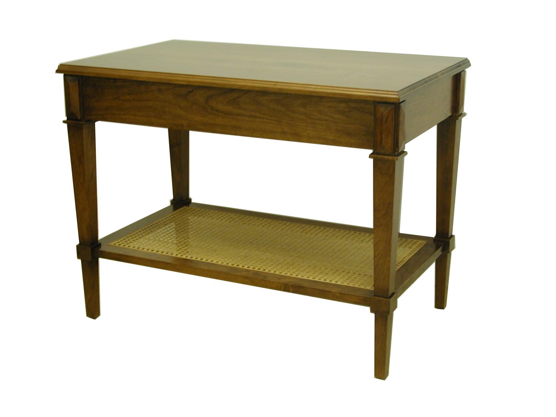 Cane Shelf Side table #1013