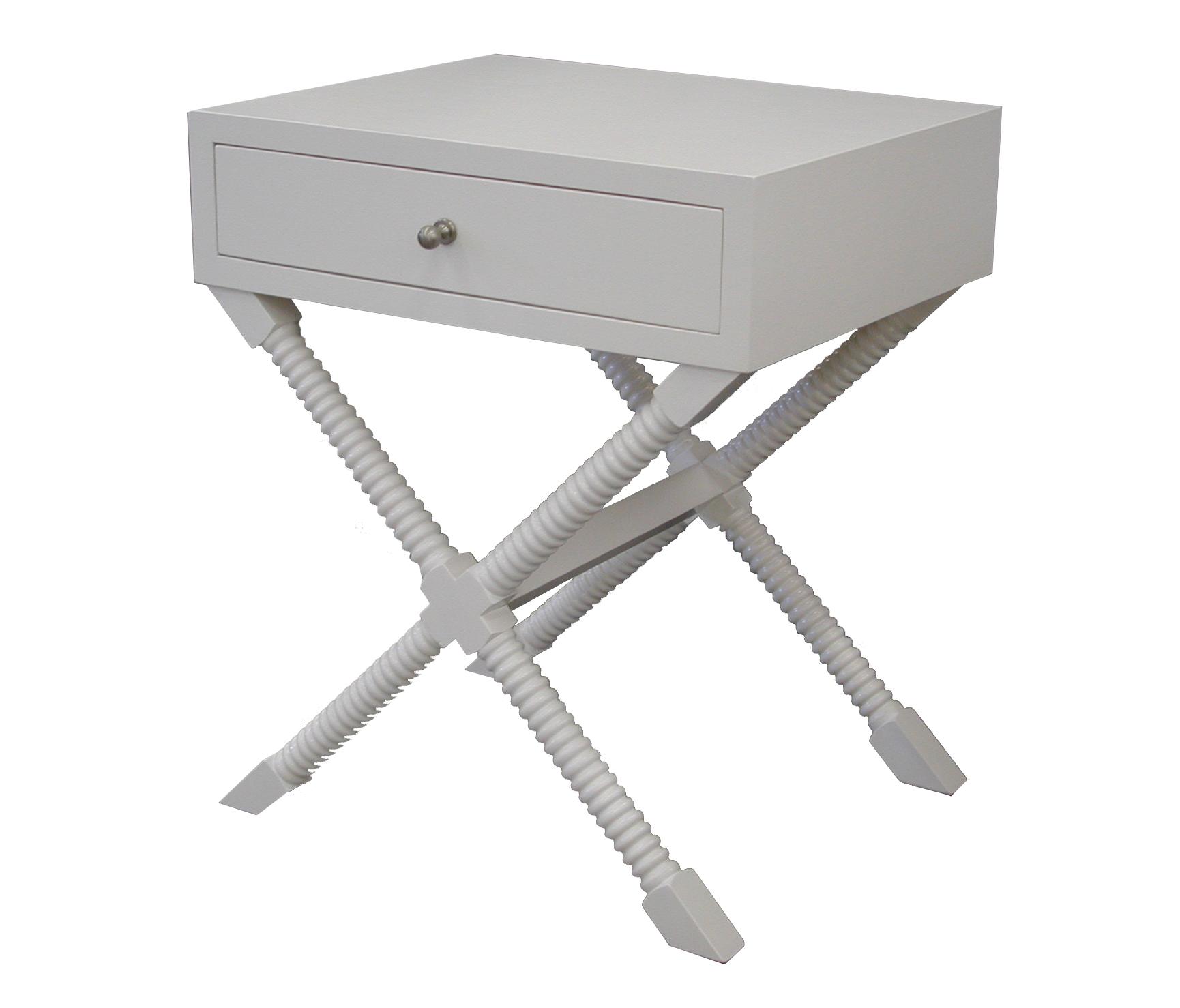 Bobbin X Side Table #2061
