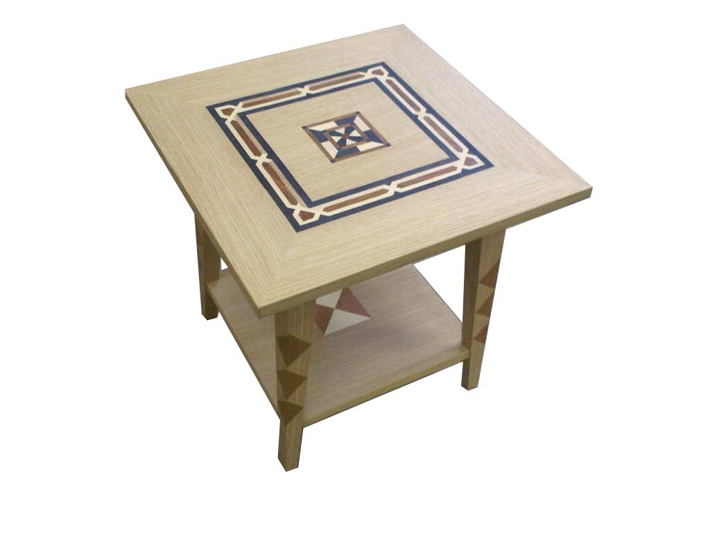 Veneered Side Table #2096