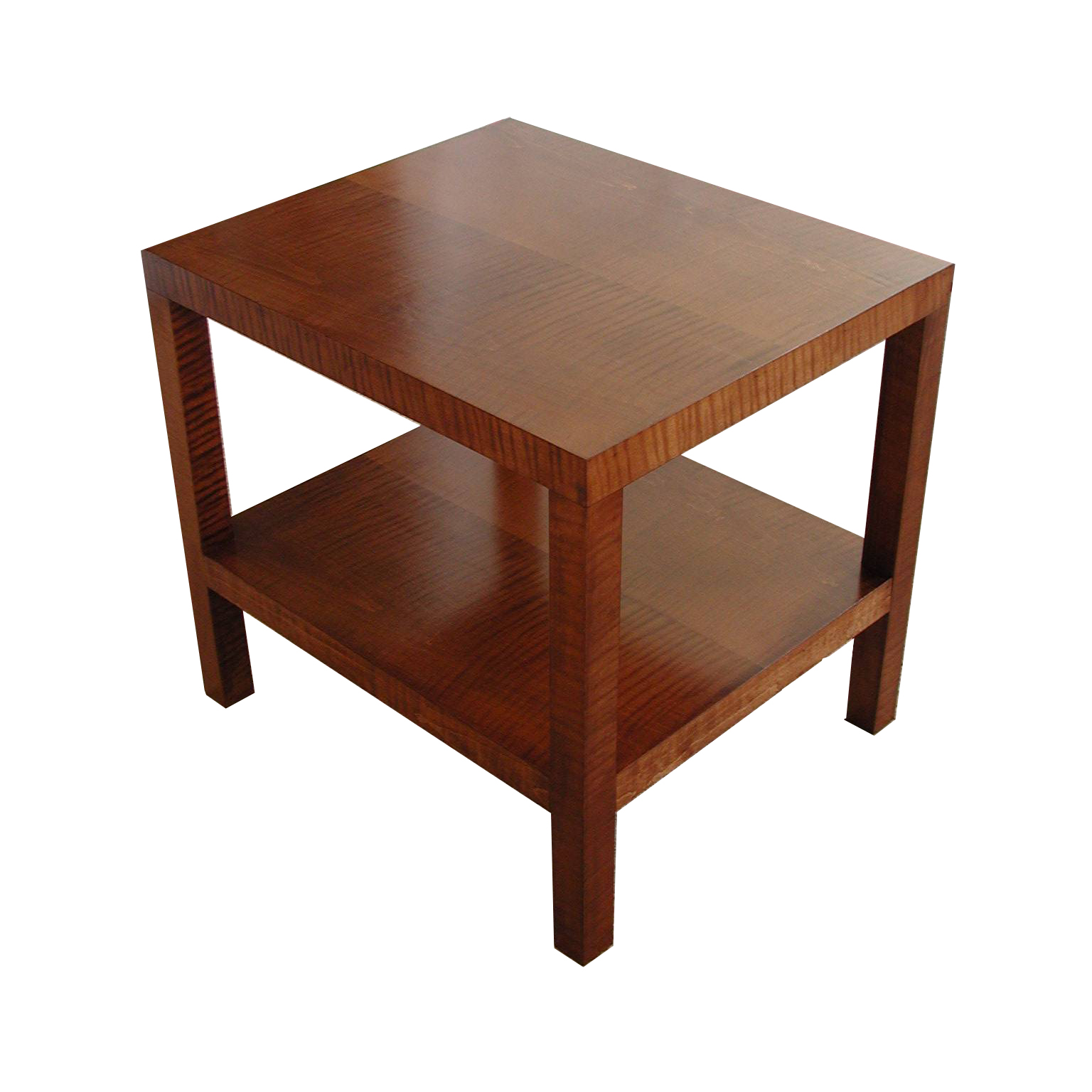 Tiger Maple Side Table #2097