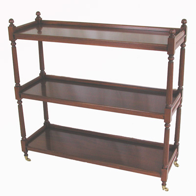 Reeded Etagere #1037B