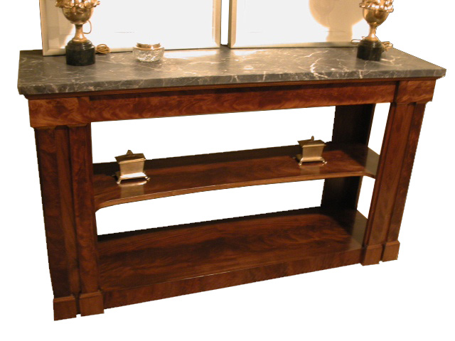Marble Top Console #2102
