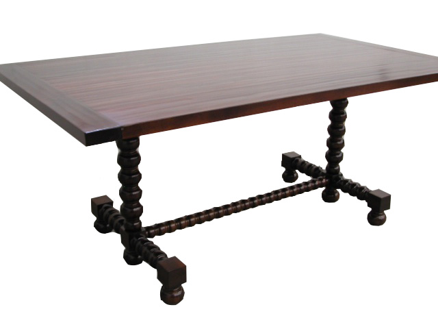 Bobbin Trestle Farm Table #2104