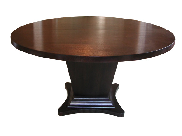 Taper Pedestal Dining Table #2105