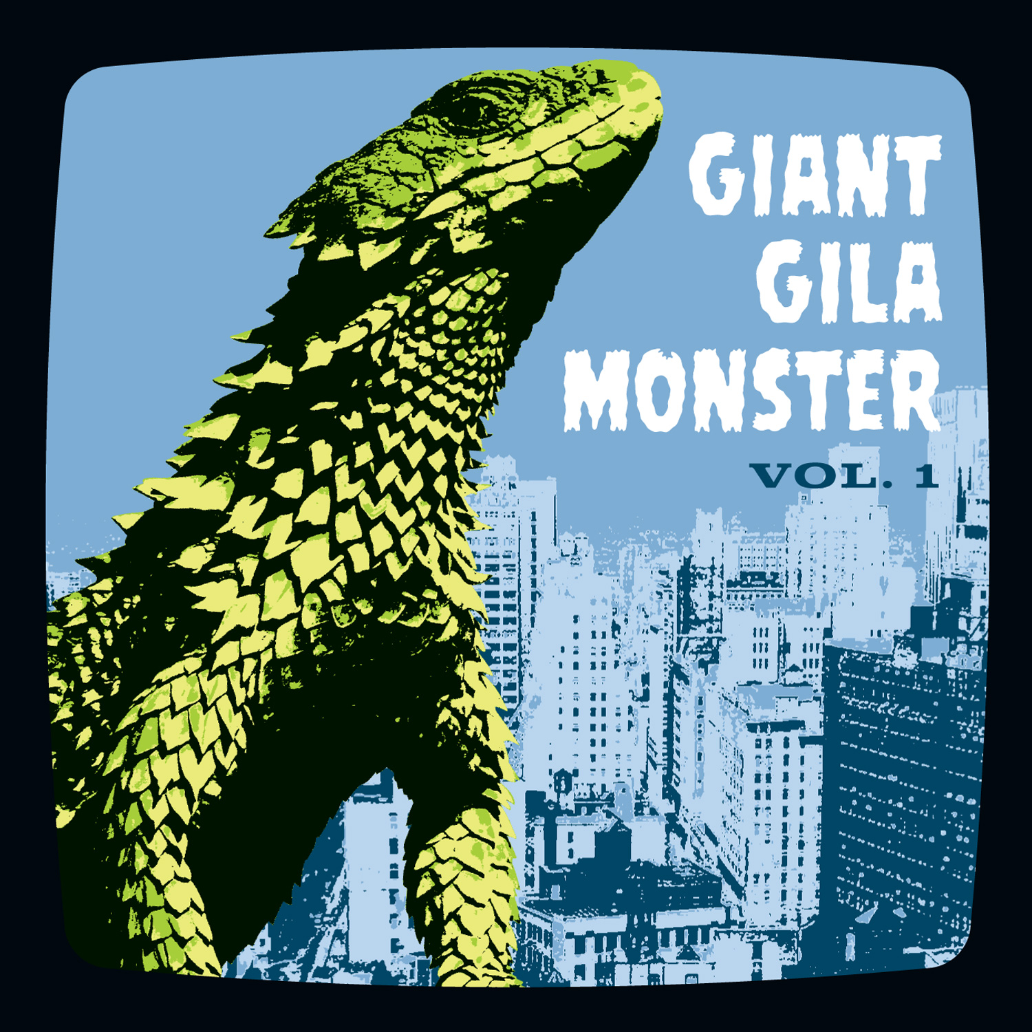 Giant Gila Monster, Vol. 1 45 sleeve