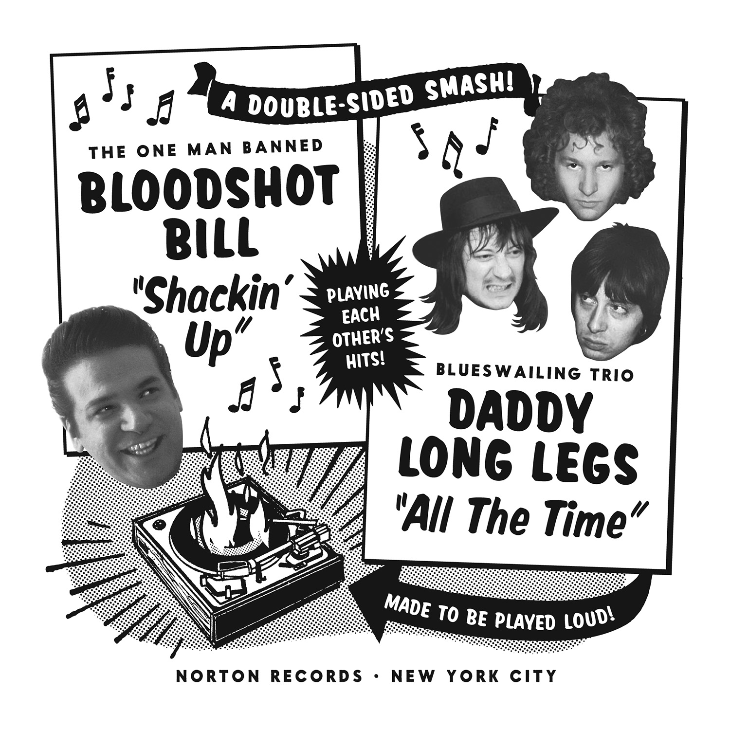 Bloodshot Bill/Daddy Long Legs 45 sleeve