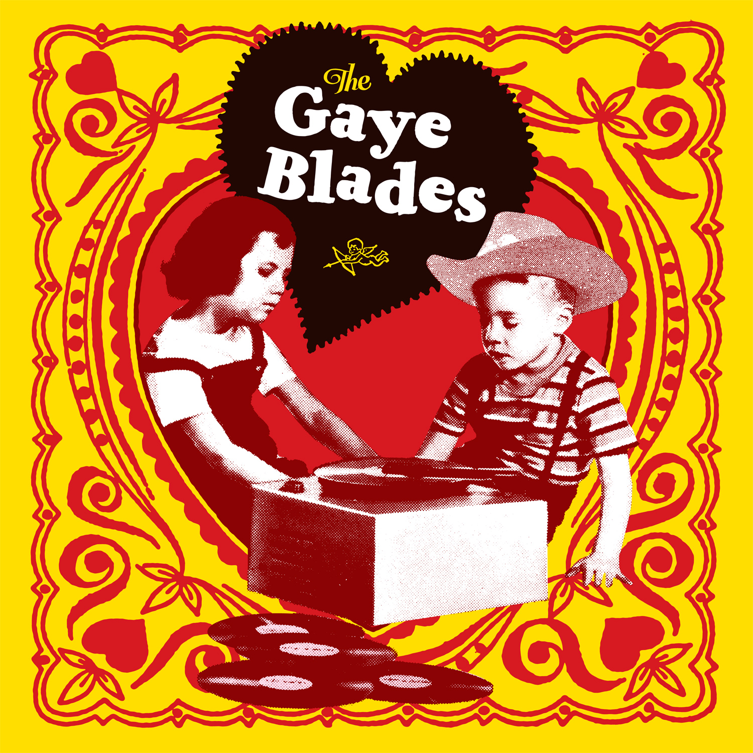 The Gaye Blades LP cover