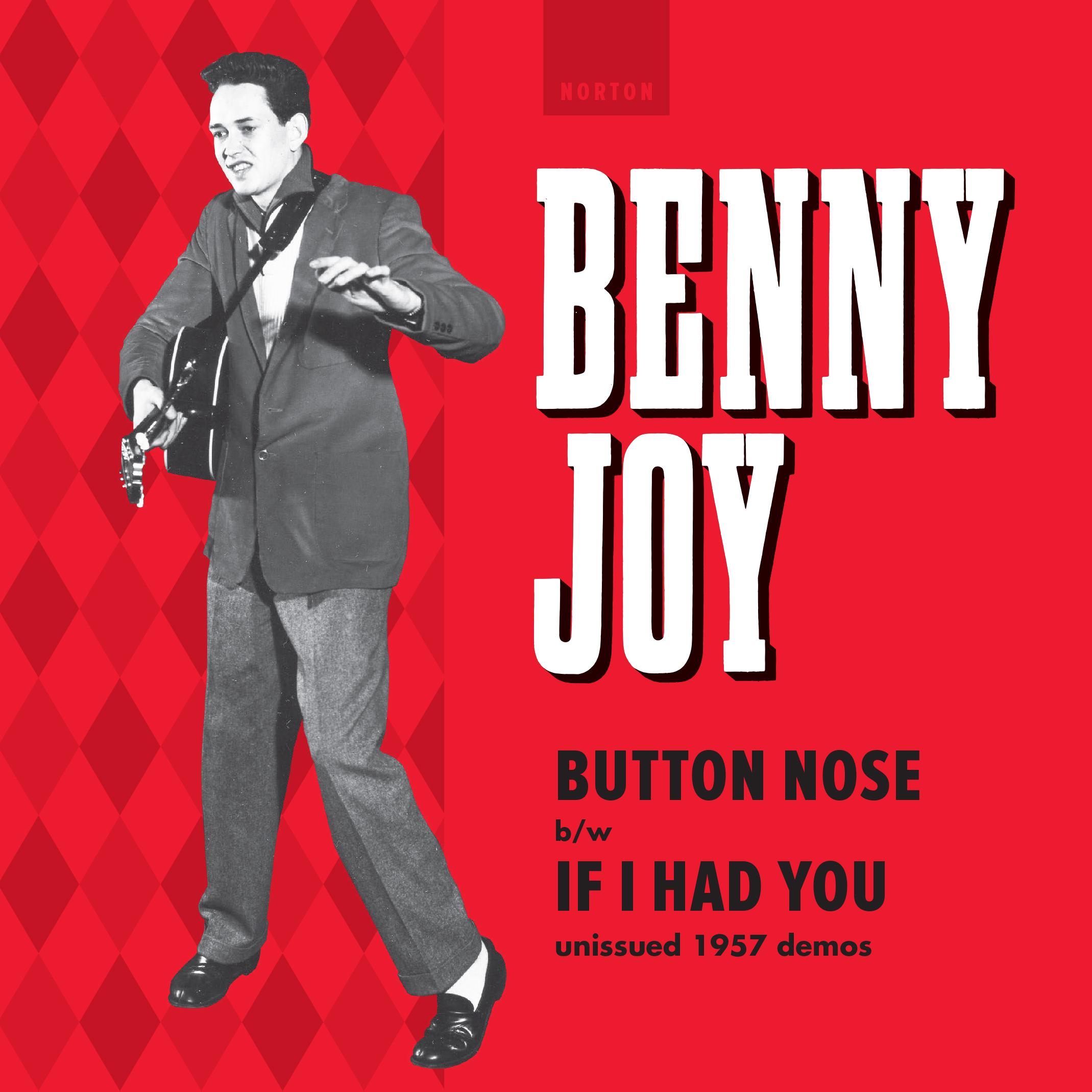 Benny Joy - Button Nose 45 sleeve
