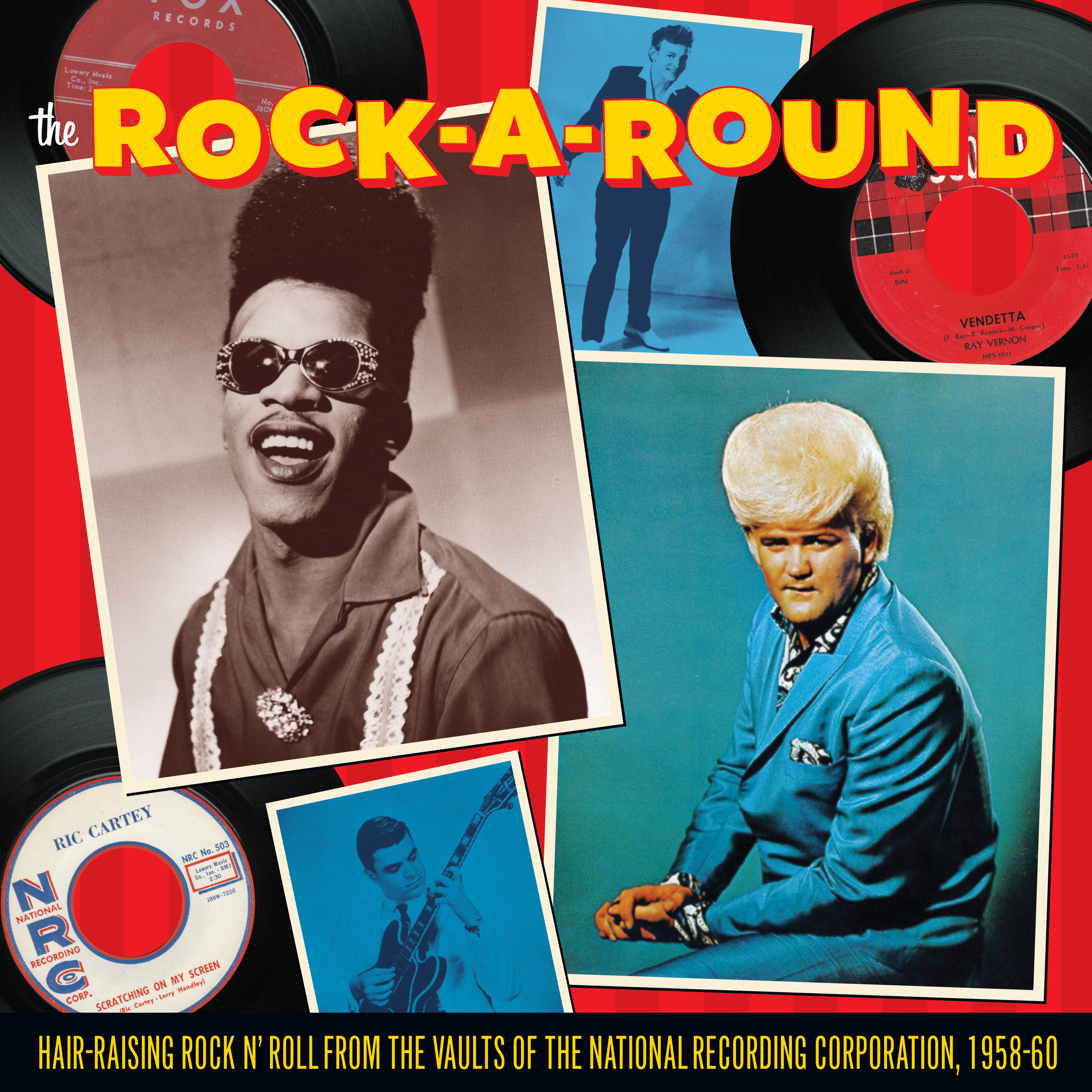The Rock-A-Round LP cover