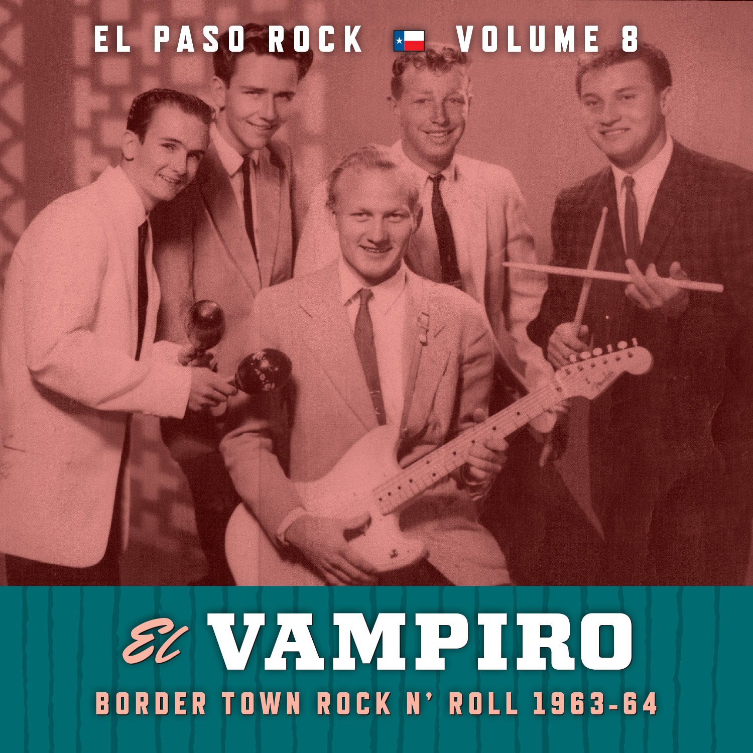 El Paso Rock Vol. 8/El Vampiro CD/LP cover