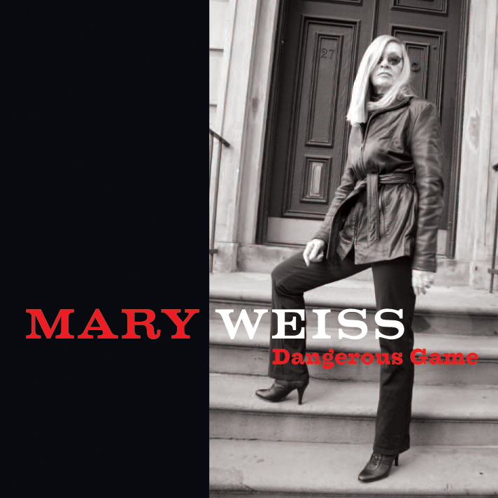 Mary Weiss - Dangerous Game LP/CD cover