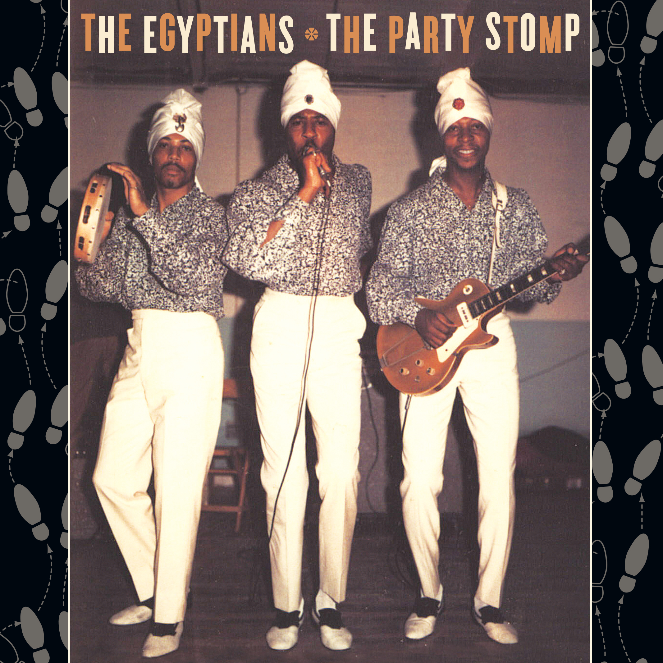 The Egyptians - The Party Stomp 45 sleeve