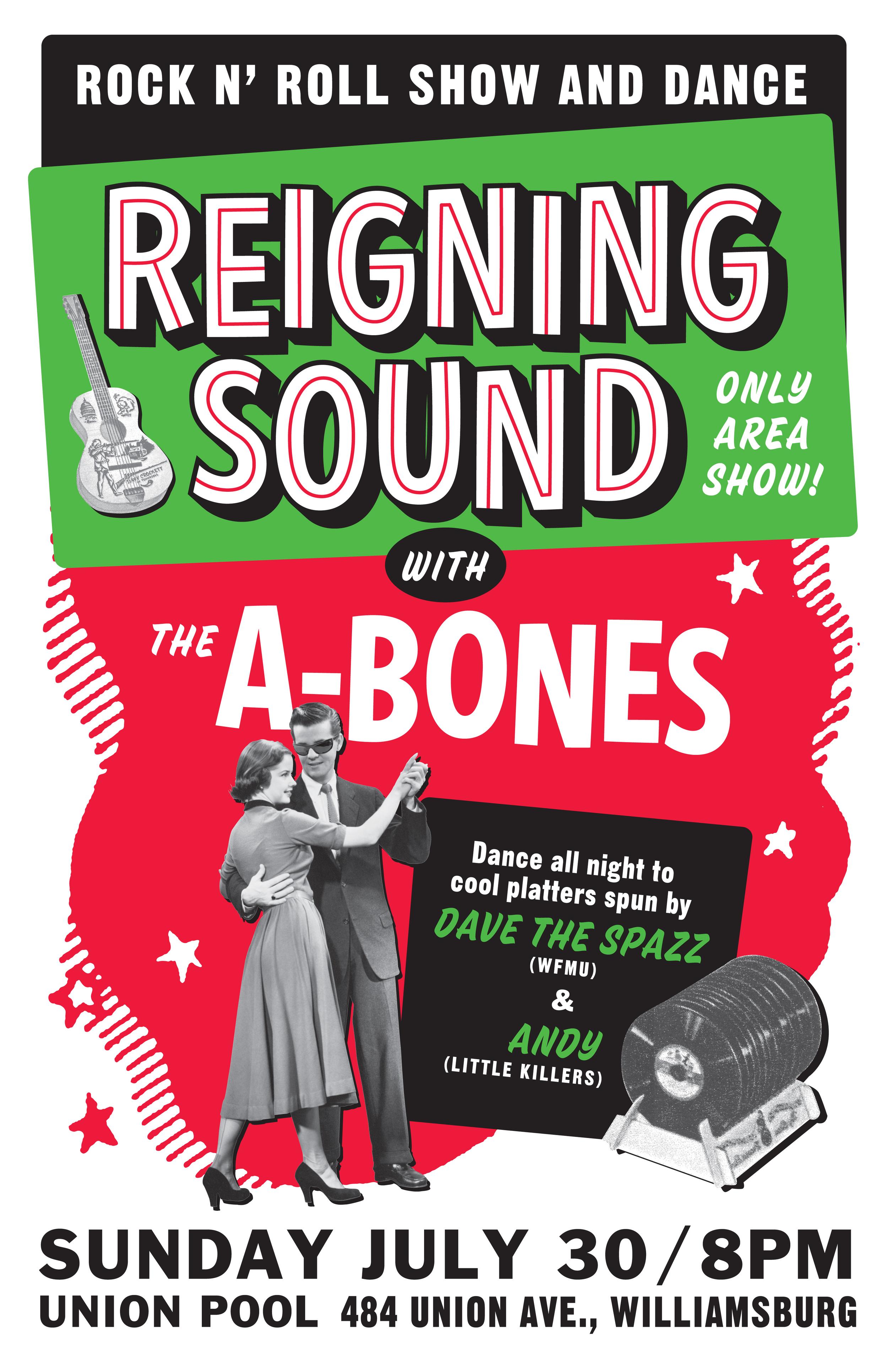 Reigning Sound concert poster