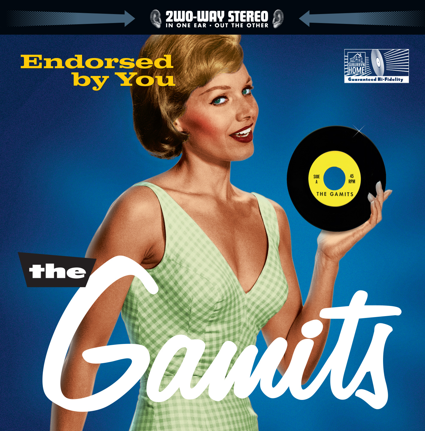 The Gamits - Endorsed by You CD cover