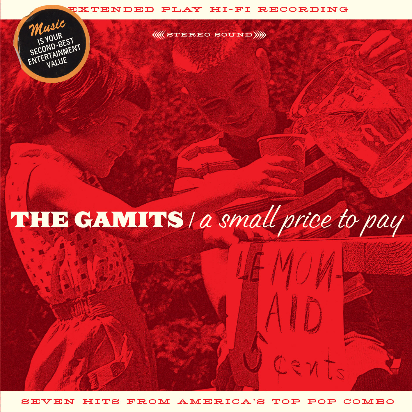 The Gamits - A Small Price to Pay CD cover