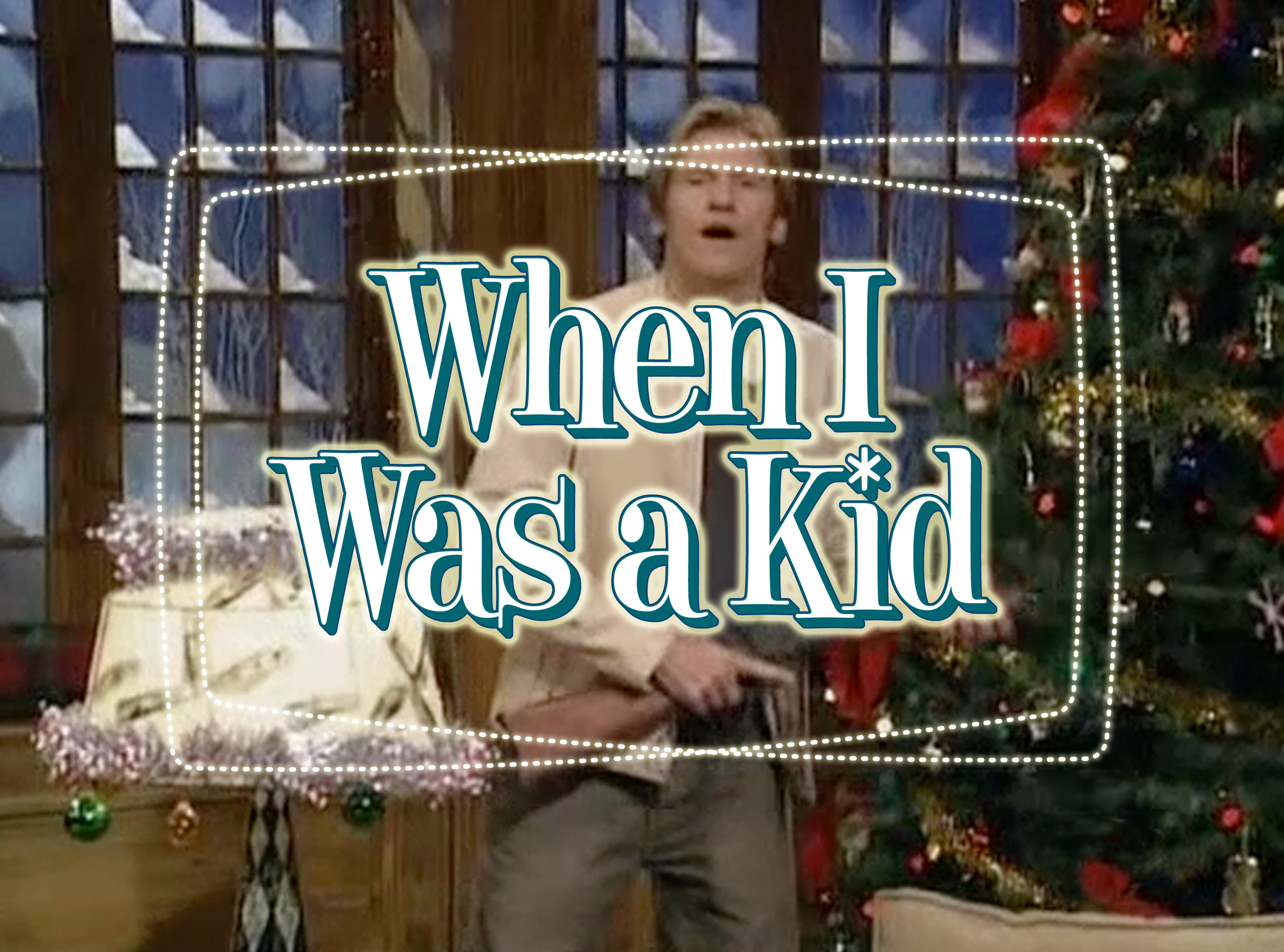 When I Was a Kid title card
