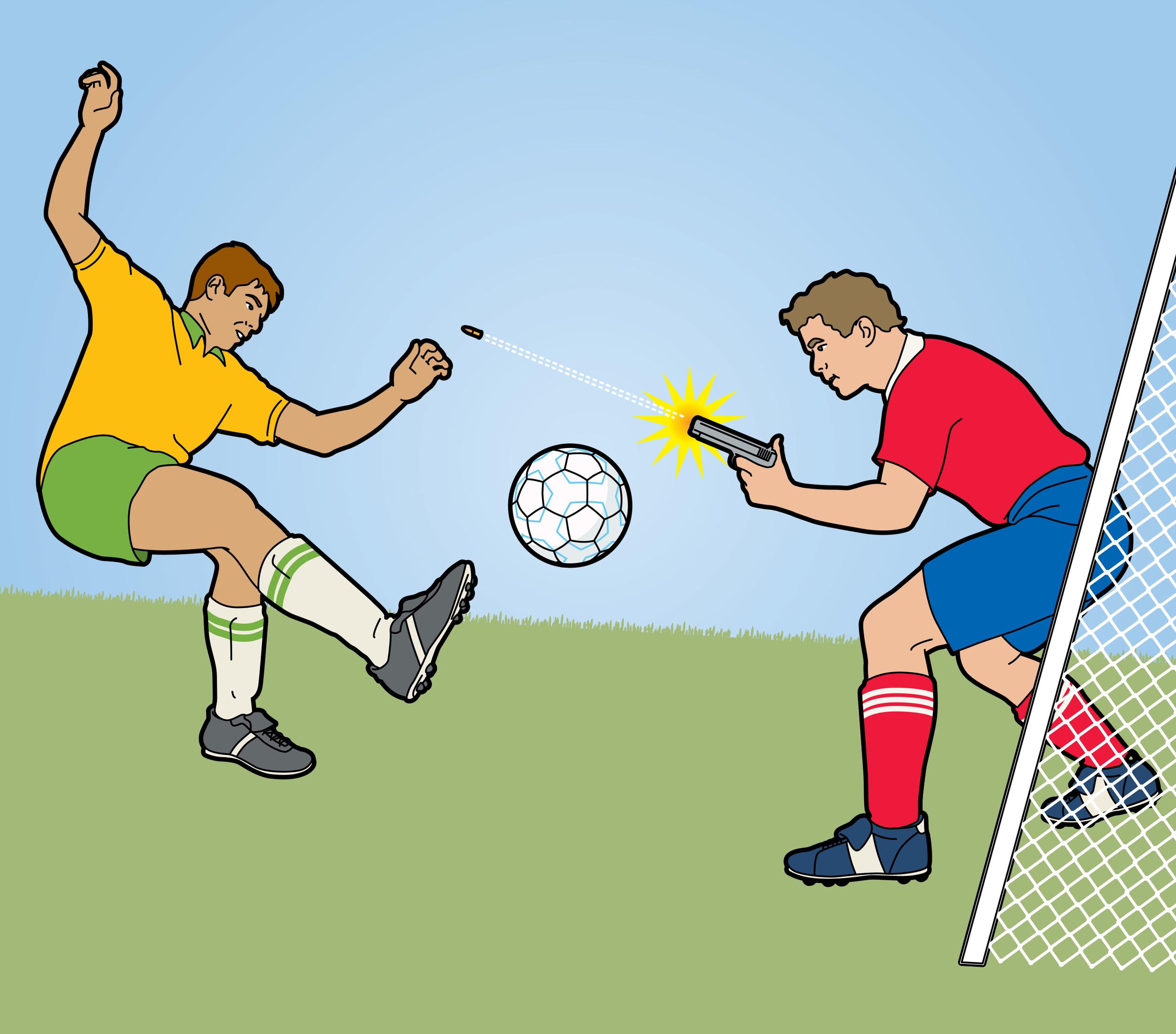 World Cup misbehavior