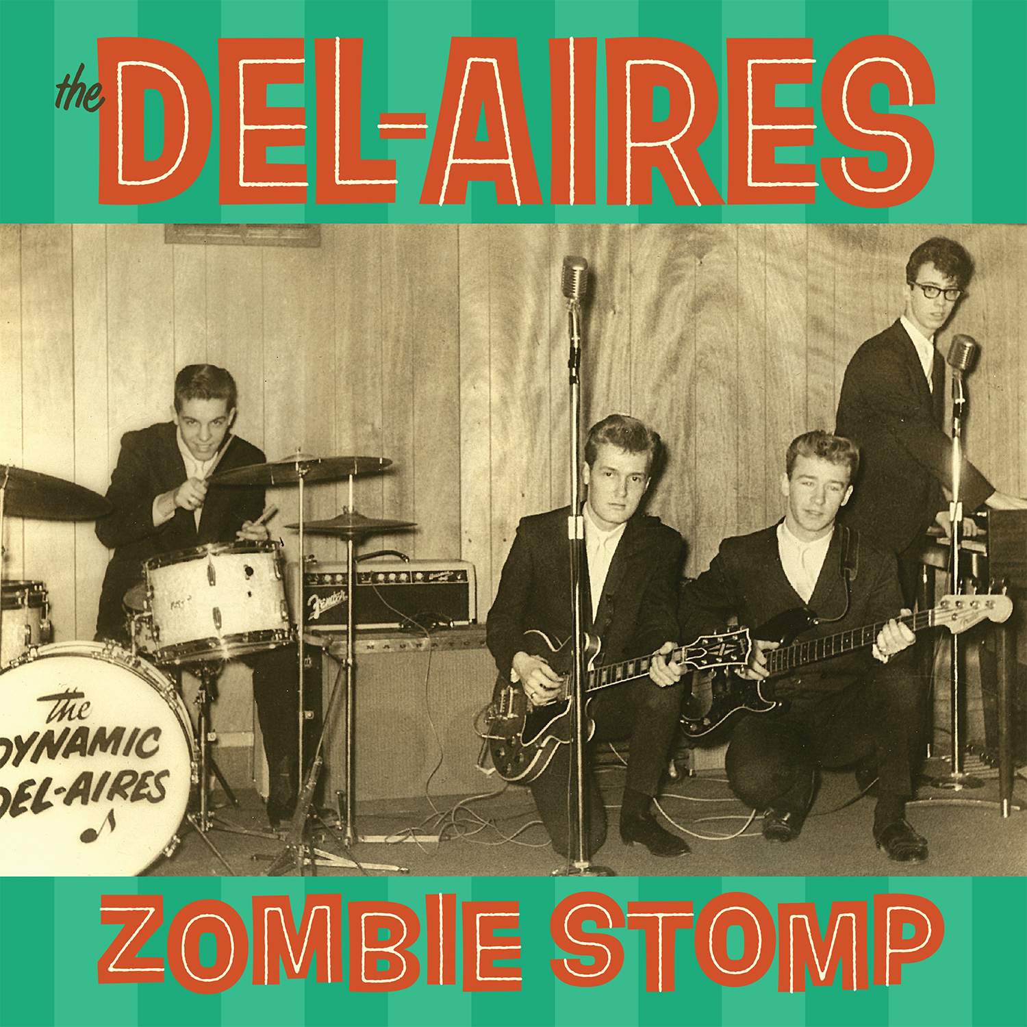 The Del-Aires - Zombie Stomp LP cover