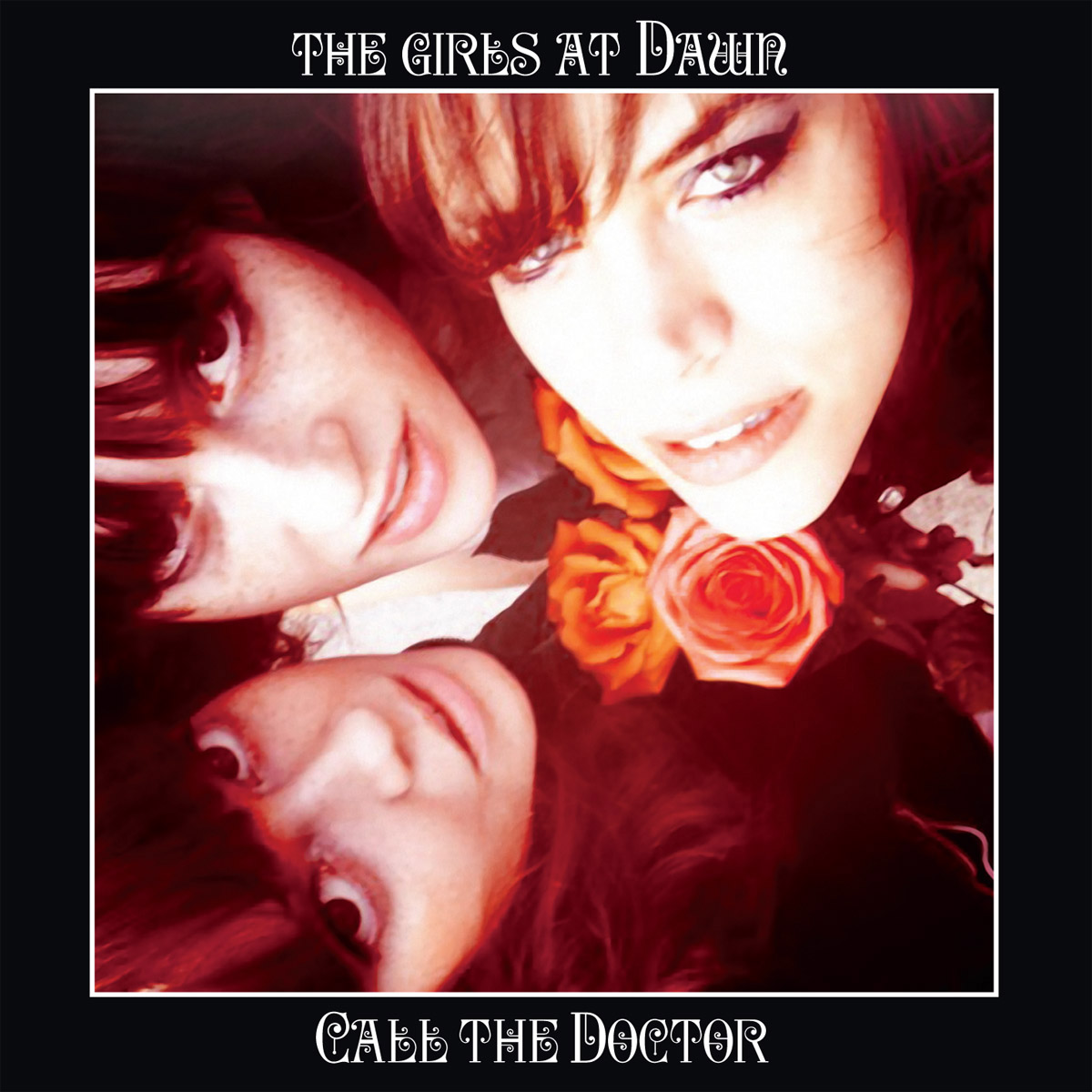 The Girls at Dawn - Call the Doctor LP/CD cover