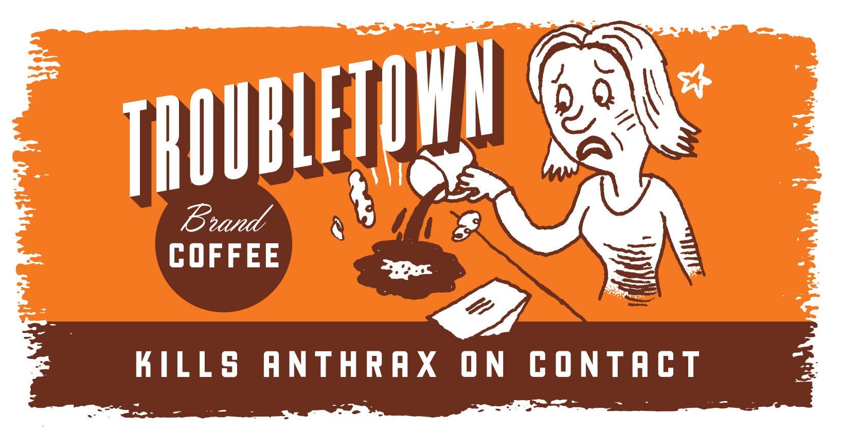 Troubletown Coffee Mug