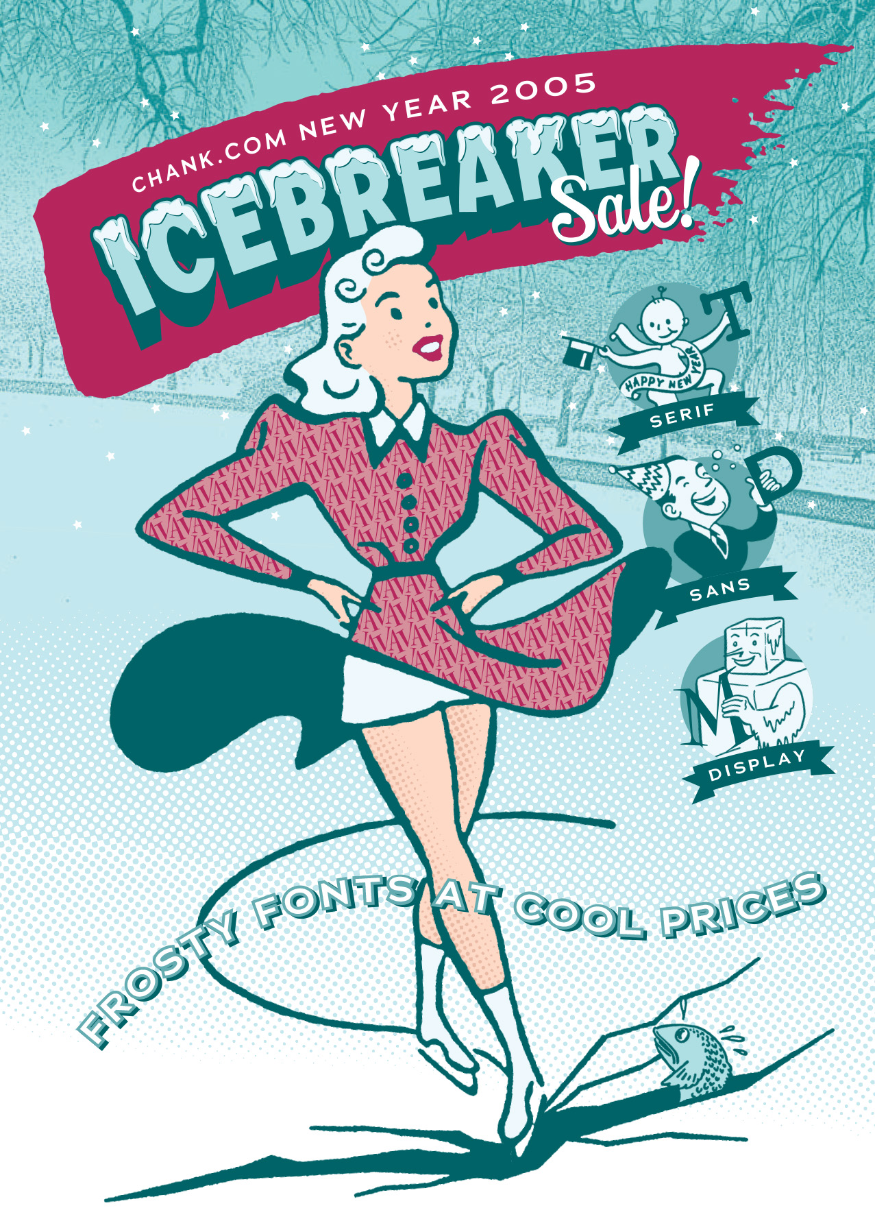 Chank.com Icebreaker postcard