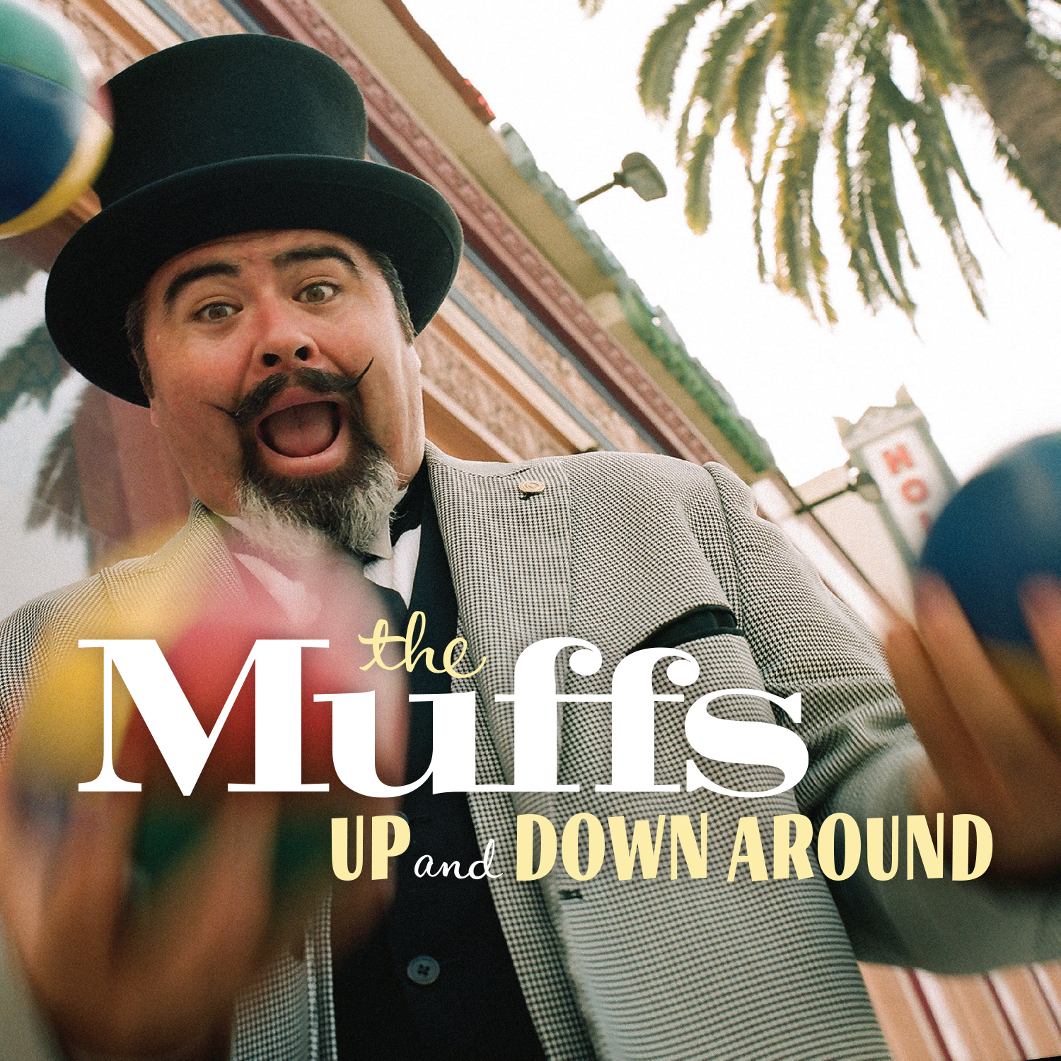 The Muffs - Up and Down Around digital single cover
