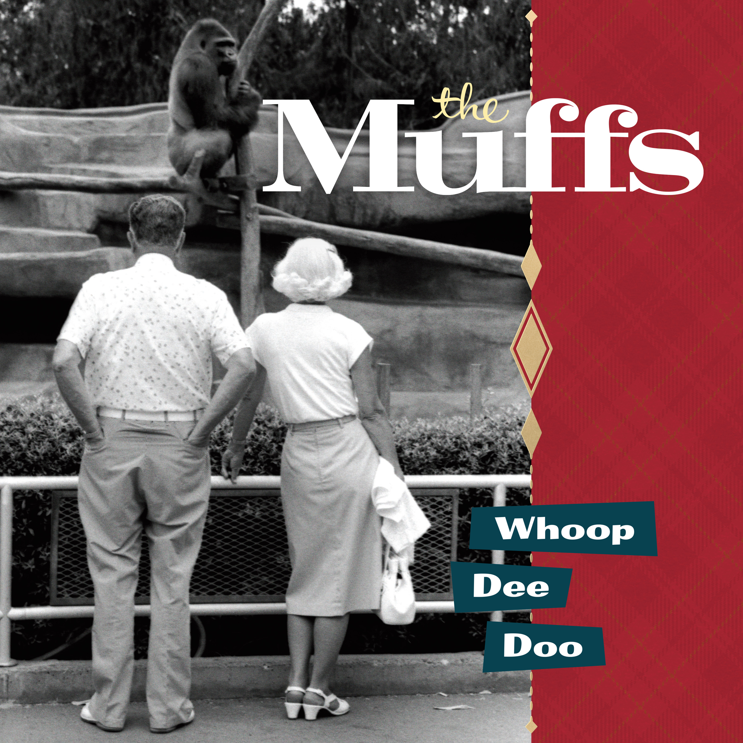 The Muffs - Whoop Dee Doo LP/CD cover