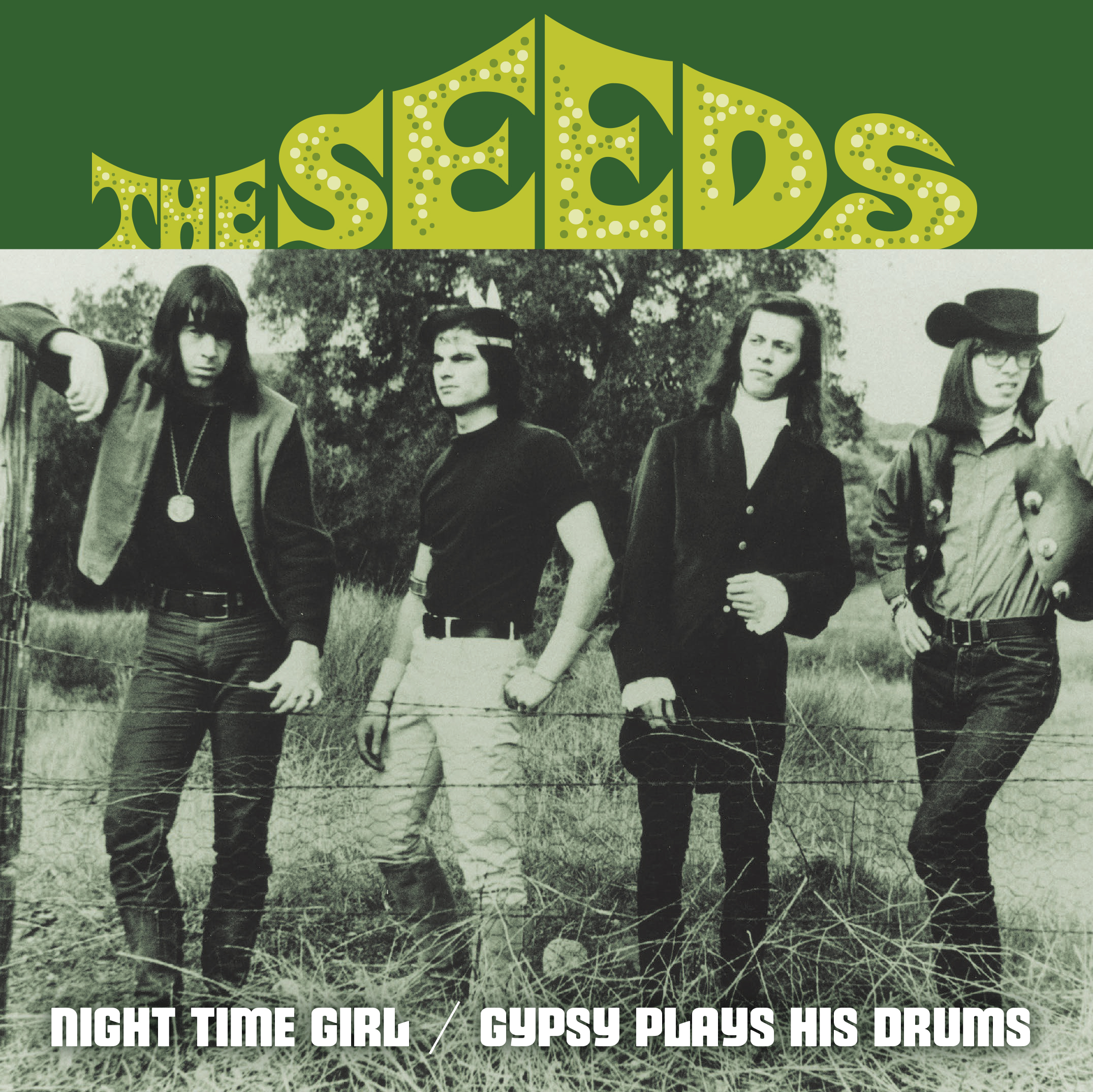 The Seeds - Night Time Girl 45 sleeve