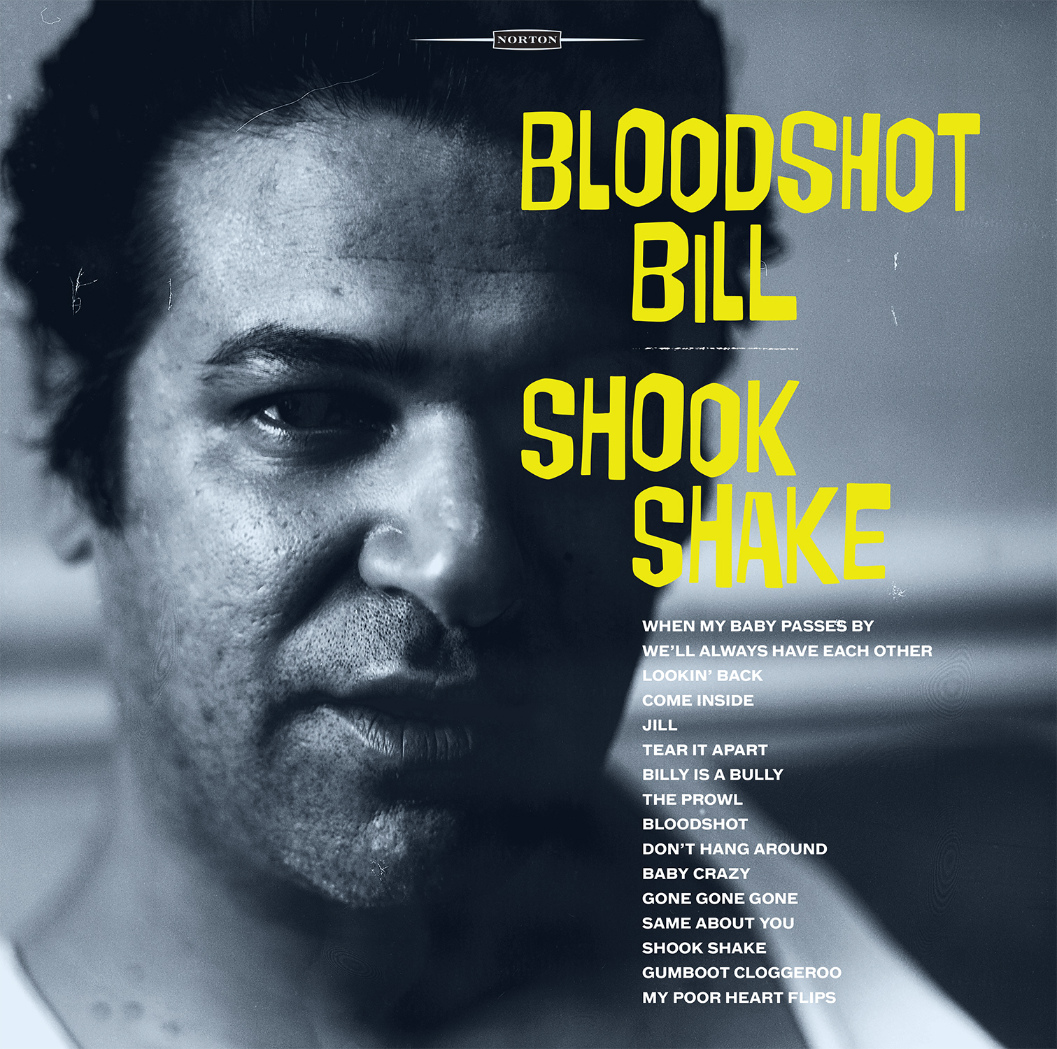 Bloodshot Bill - Shook Shake LP sleeve
