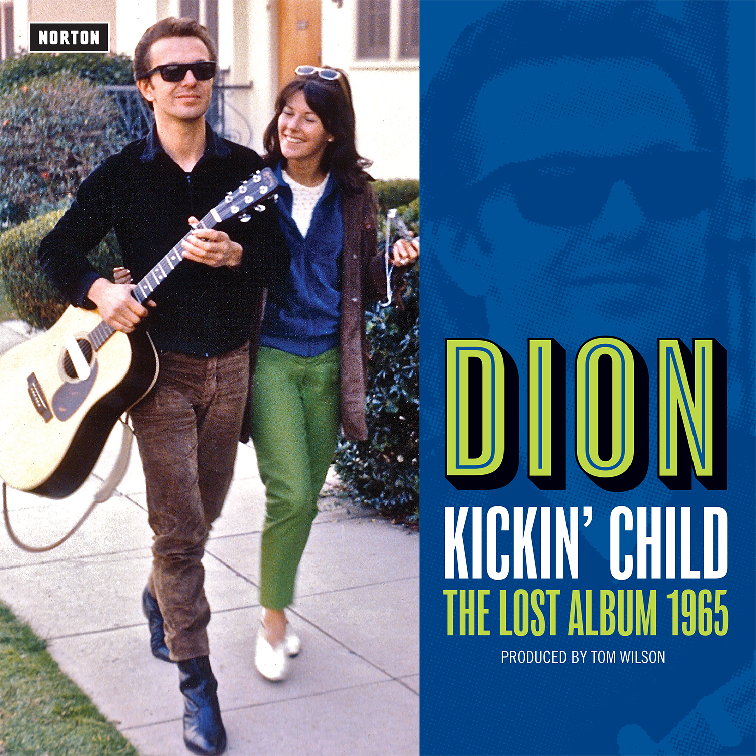 Dion - Kickin' Child LP/CD cover