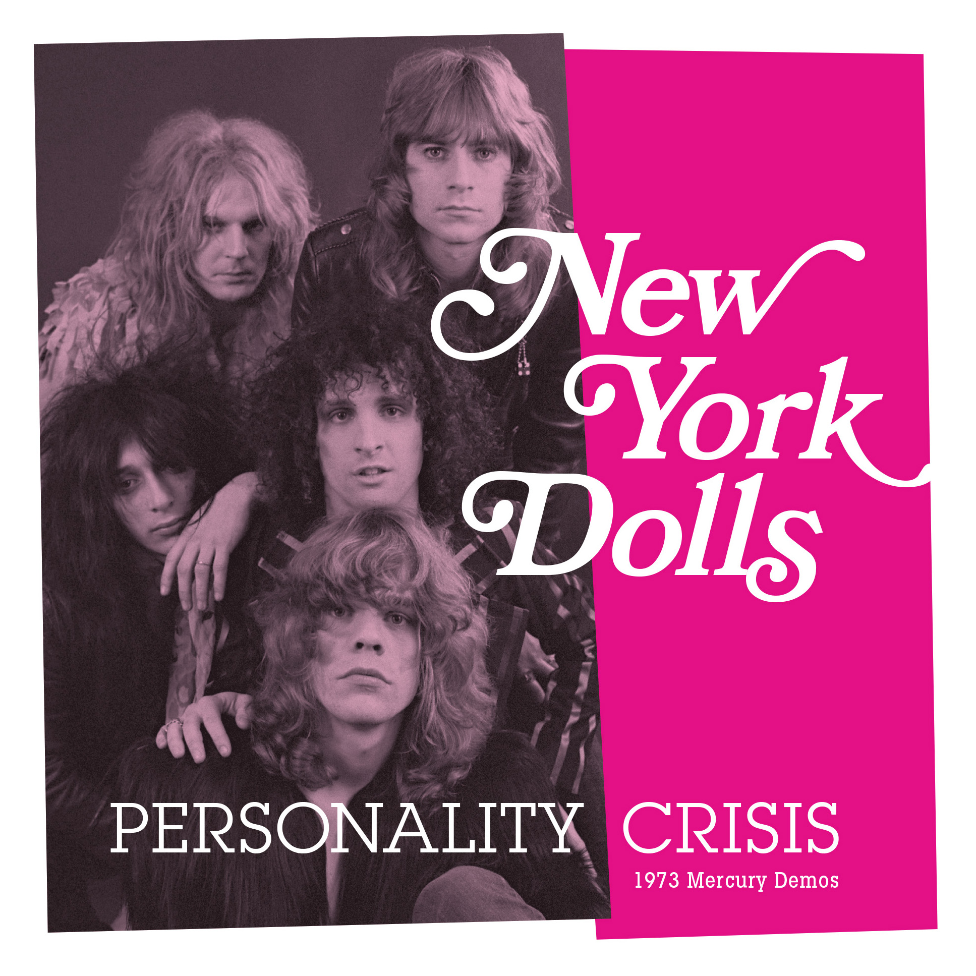 New York Dolls - Personality Crisis 45 sleeve