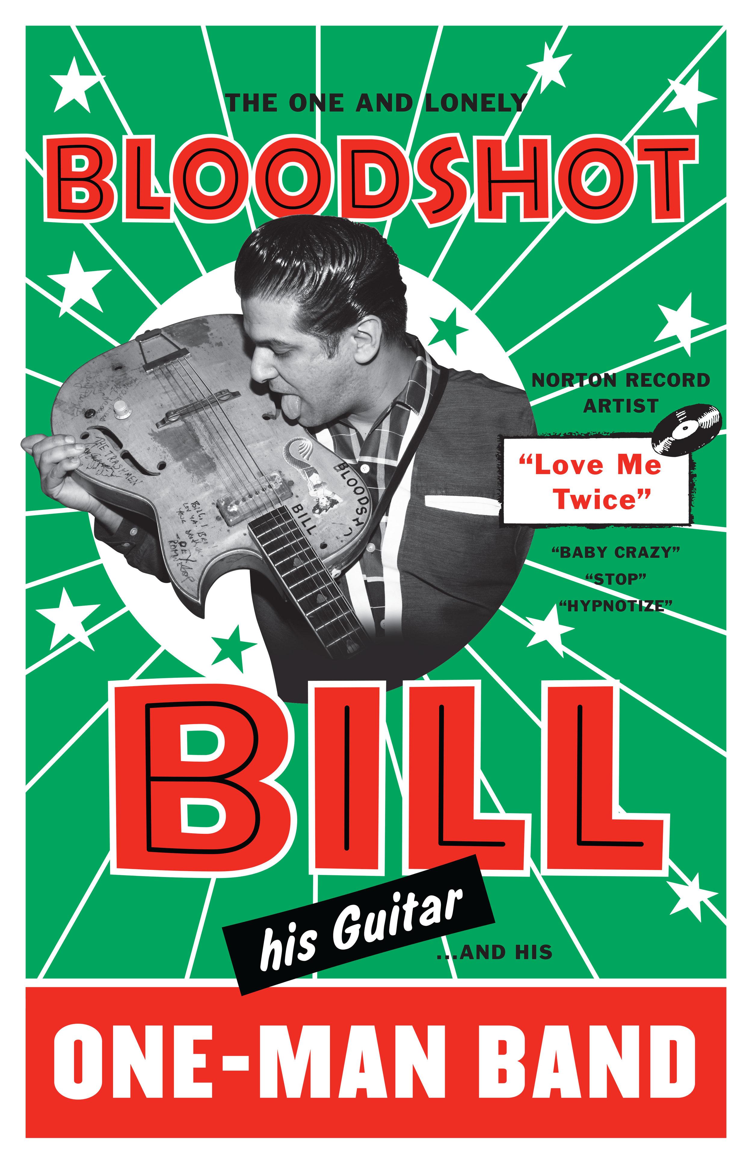 Bloodshot Bill poster